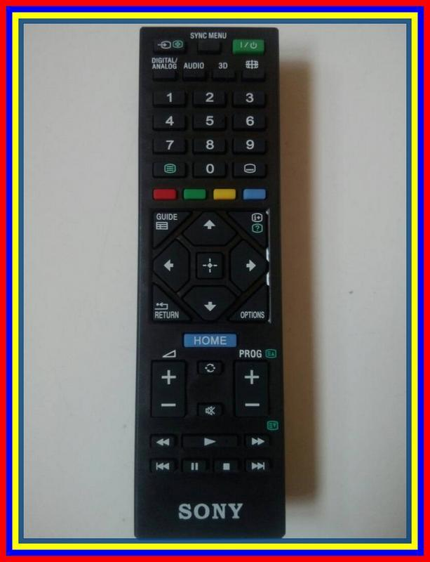 Remot Remote TV LCD LED Smart TV 3D Sony KW