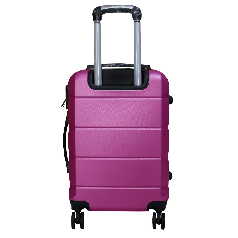 Koper Polo Expley Hardcase Luggage 24 Inchi 802-24 Anti Theft Original - Ungu
