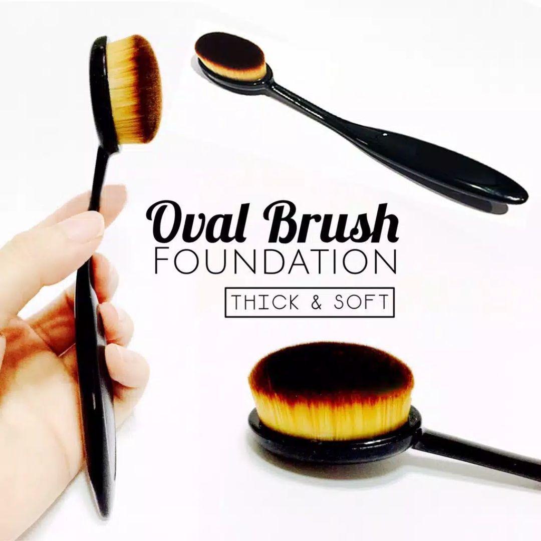 Oval Make Up Brush - Kuas Make Up Oval