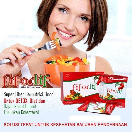 Harga Fiforlif Asli Herbal Alami Diet Detox Pelangsing Perut Libas Buncit Satu Set