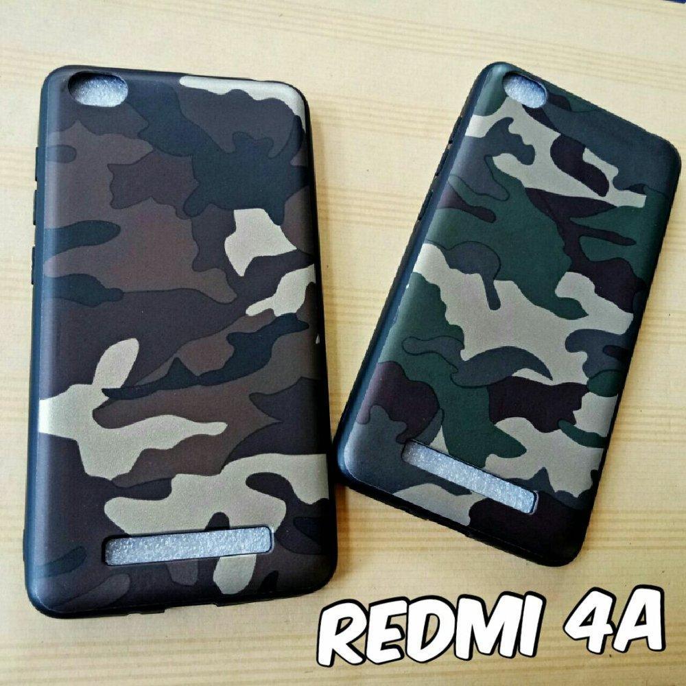 Softcase case Army Loreng for Xiaomi Redmi 4A --TJ