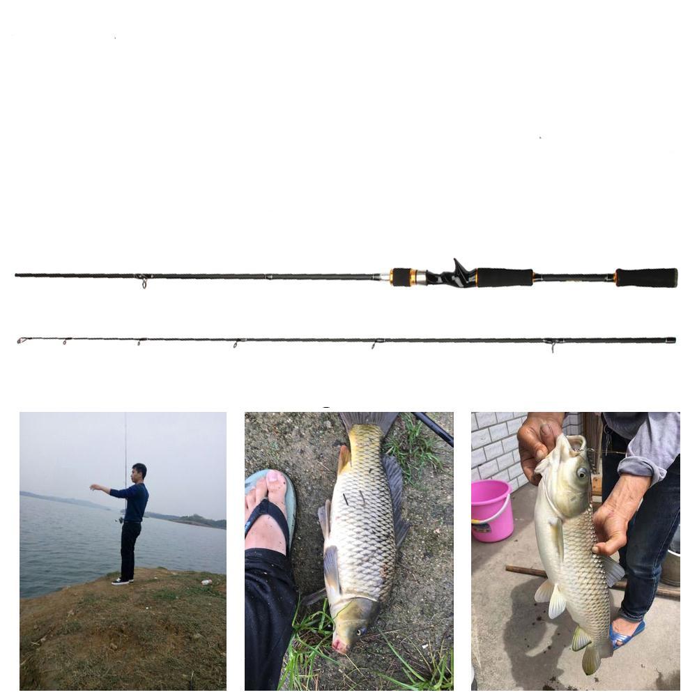 Beli Barang Joran Pancing 2 1M High Carbon M Power 5 16G Lure Bait Casting Fishing Rod Online