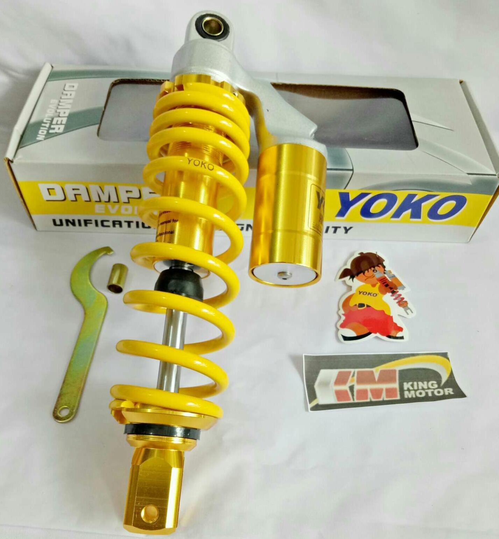 Yoko - Shock Tabung Matic 305mm - Kuning