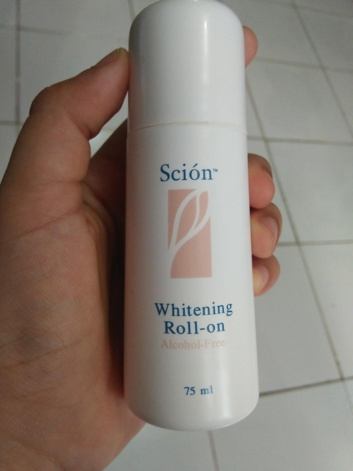 Fitur Scion Whitening Roll On Deodorant 75ml Penghilang Bau Badan Shining Cupcake Underarm Cream Plus Pemutih Ketiak Bpom Dan Pria