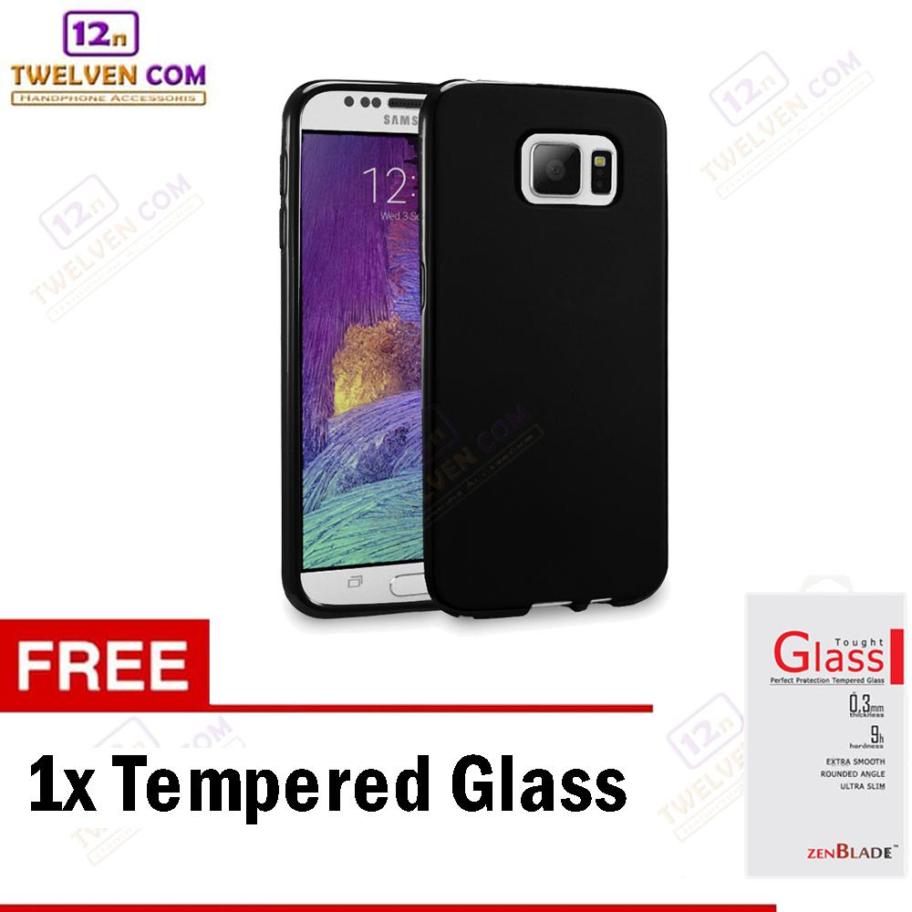 Twelven Case Slim Matte For Samsung Note 5 - Free Tempered Glass