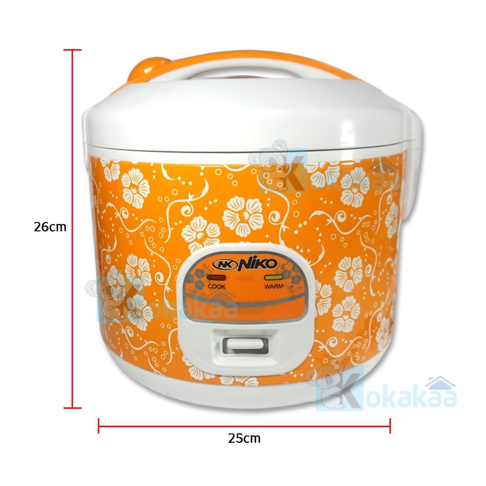 Harga Niko Rice Cooker 3in1 Penanak Nasi 18liter Nk Rc18x Serbaguna Miyako Mcm 609 Magic Com 06 Liter Warm And Cook