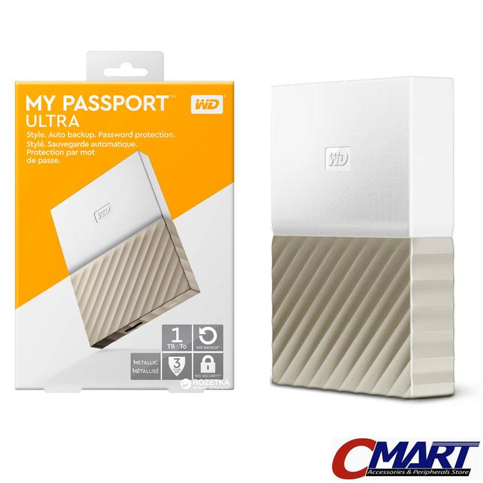 ORIGINAL - WD My Passport Ultra 1TB - HDD Hardisk Harddisk External Eksternal