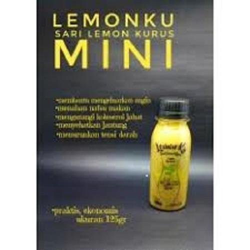 Jus diet Lemonku 125gr kemasan mini - Jus Kurus langsing cara sehat
