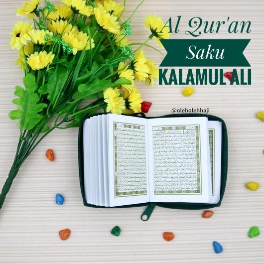 ... Nabawi Al Quran Saku Kalamul Ali - Hijau - 3