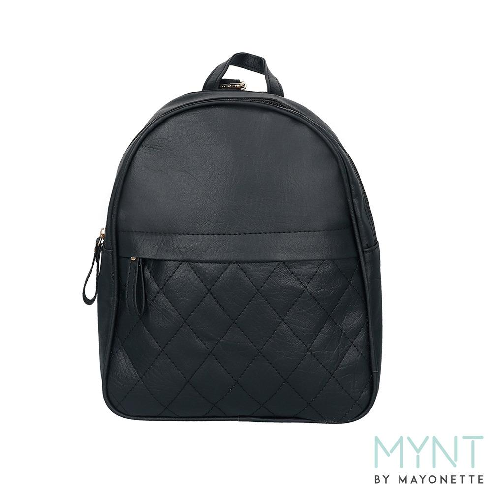 MYNT by Mayonette Tas Ransel Wanita PU Leather Korean Style Alura Backpack (Hitam)
