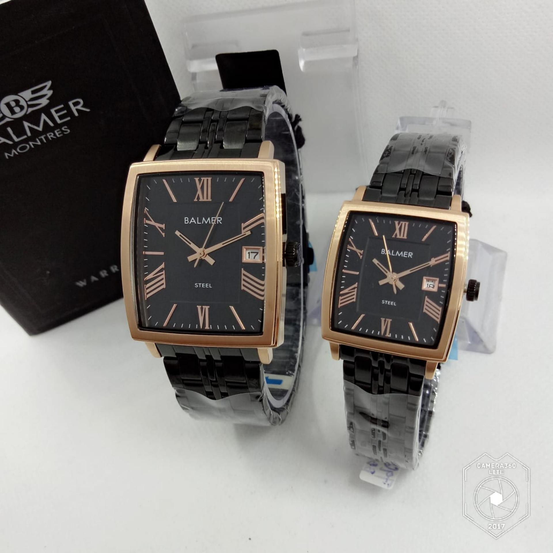 Balmer Bl 7913 Dbg Jam Tangan Couple Serries Dark Brown Gold Leather Alba Atcs30 Wanita Silver Strap Daftar Harga