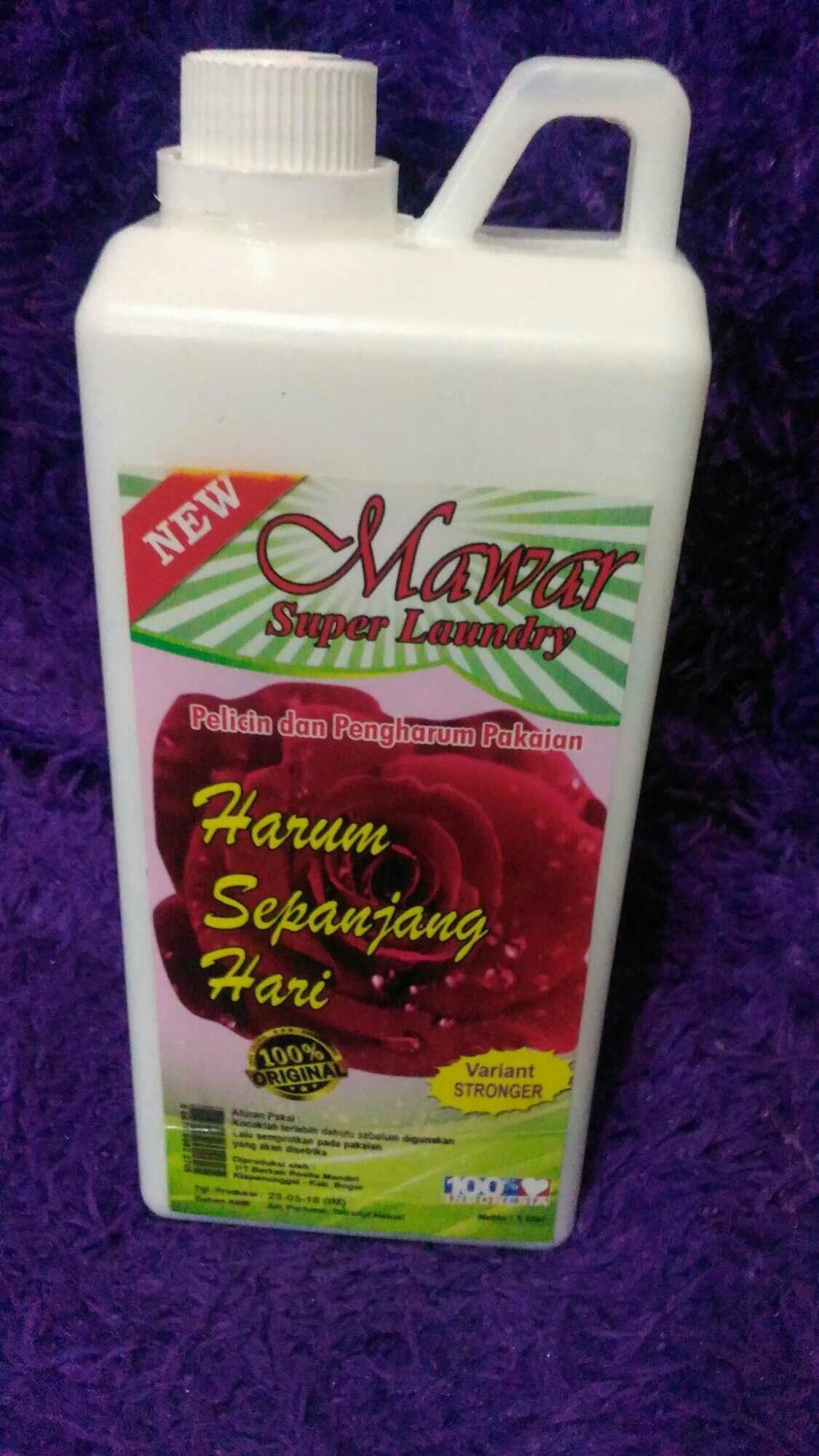 Kelebihan Pewangi Pakaian Mawar Super Laundry Aroma Putih Msl Pelicin Dan
