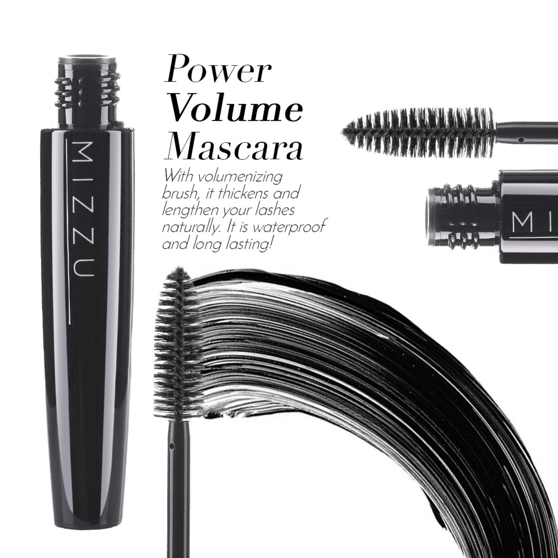 Cek Harga Baru Mizzu Power Volume Mascara Black Waterproof Warna Esenses 8ml Gambar Produk Rinci Pigmented Menebalkan Melentikkan Maskara Terkini
