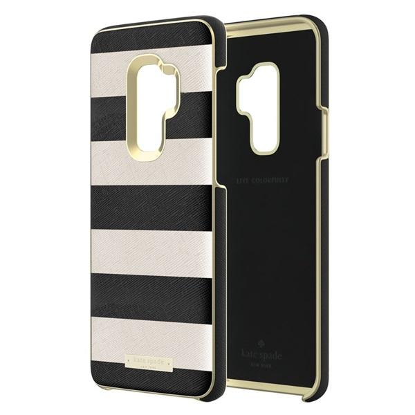 Samsung Wrap Case Kate Spade New York For Galaxy S9 Plus / S9+ - Hitam Putih