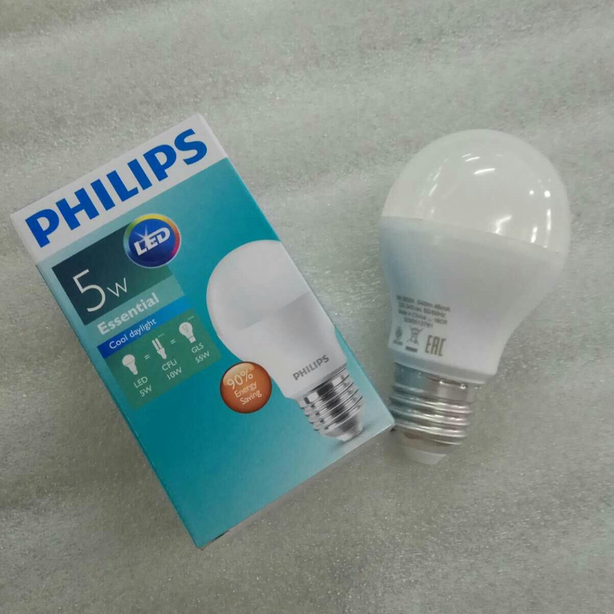 Lampu Philips Led Essential 5 watt /isi 10 pcs - 3