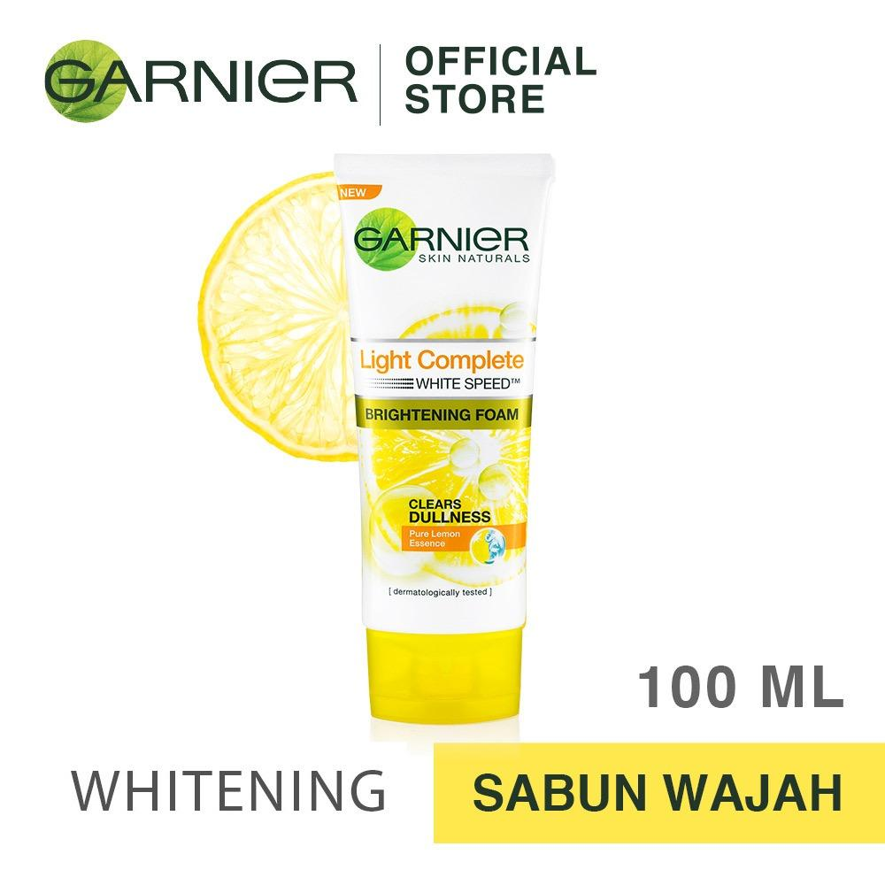 Garnier Light Complete White Speed Foam [Pembersih Wajah] - 100 mL
