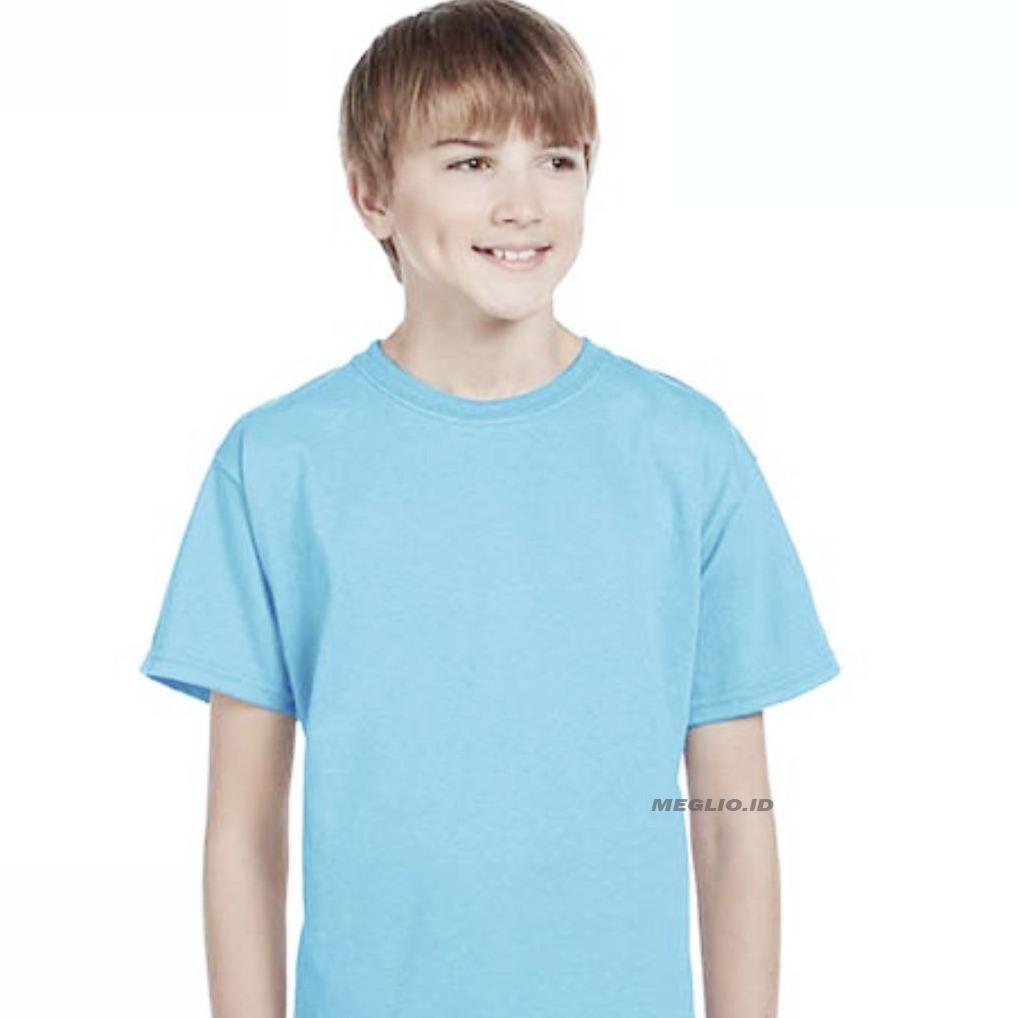 Katun Page 2 Info Harga Promo Kaos Terbaru Terlaris Baju Anak Cowo Cewe Polos Meglio Pria Kids Boy Biru Muda