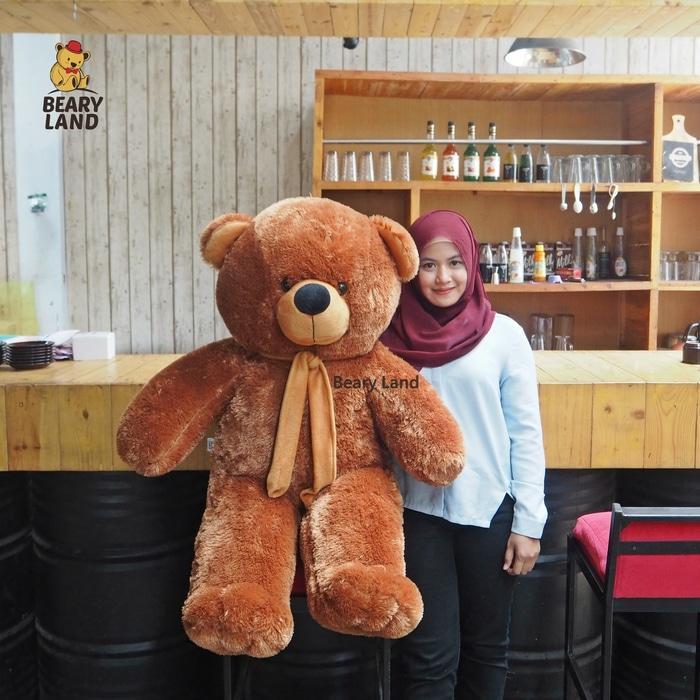 Cek Boneka Beruang Coklat Super Jumbo Kualitas Bagus Boneka00169 Dan ... aa06087d1e