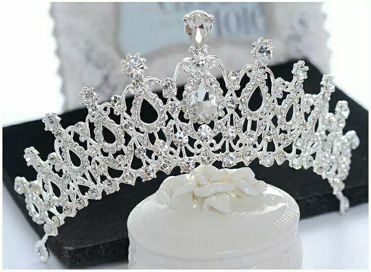 MAHKOTA CROWN TIARA PENGANTIN WEDDING HEADPIECE HIJAB ZOYA