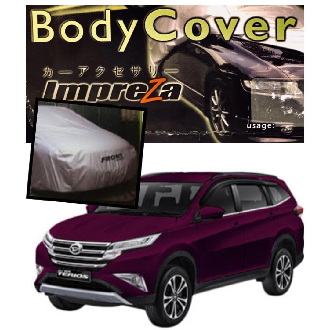 Harga Impreza Premium Body Cover Daihatsu All New Terios All New Rush Grey Pelindung Mobil Selimut Mobil Sarung Mobil Baru Murah