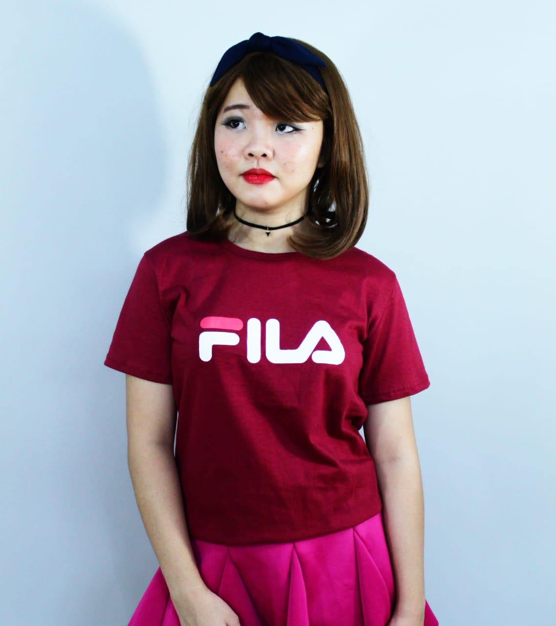 LOLILE KAOS FILA ALL SIZE FIT TO L