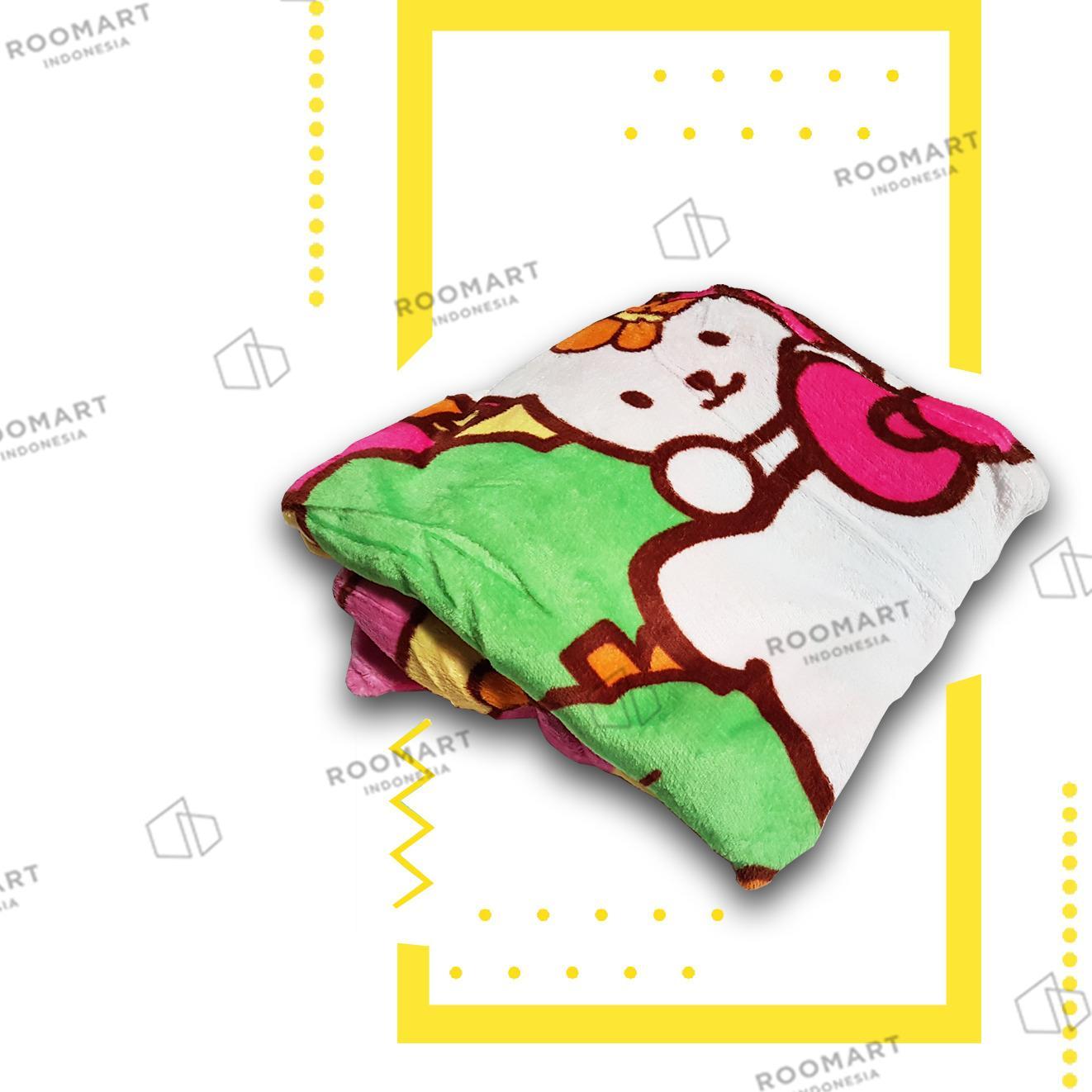 Cek Harga Baru Selimut Anak Karakter Hello Kitty And Friends Ukuran Gambar Produk Rinci 135x150 Cm Terkini
