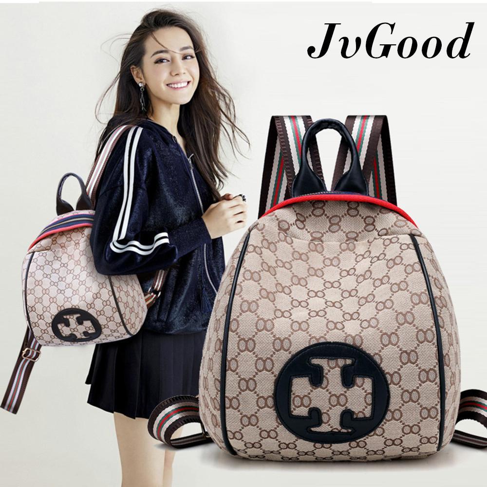 Spesifikasi Jvgood Tas Ransel Wanita Backpack Tas Punggung Fashion Canvas Backpack Tas Fashion Shoulder Bag Baru