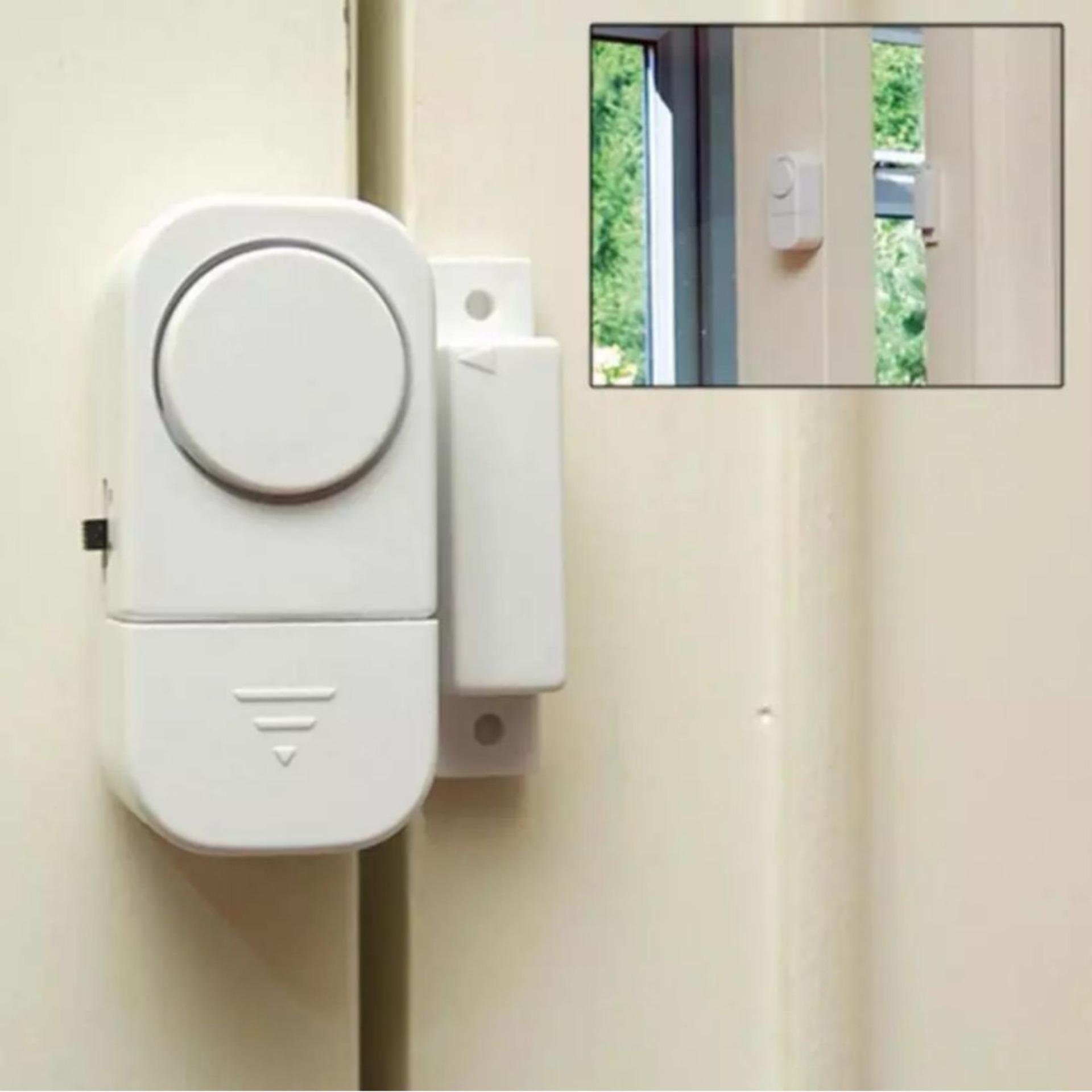 Alarm Anti Maling Pencuri Jendela Kaca Pintu Rumah Keamanan - 5 .