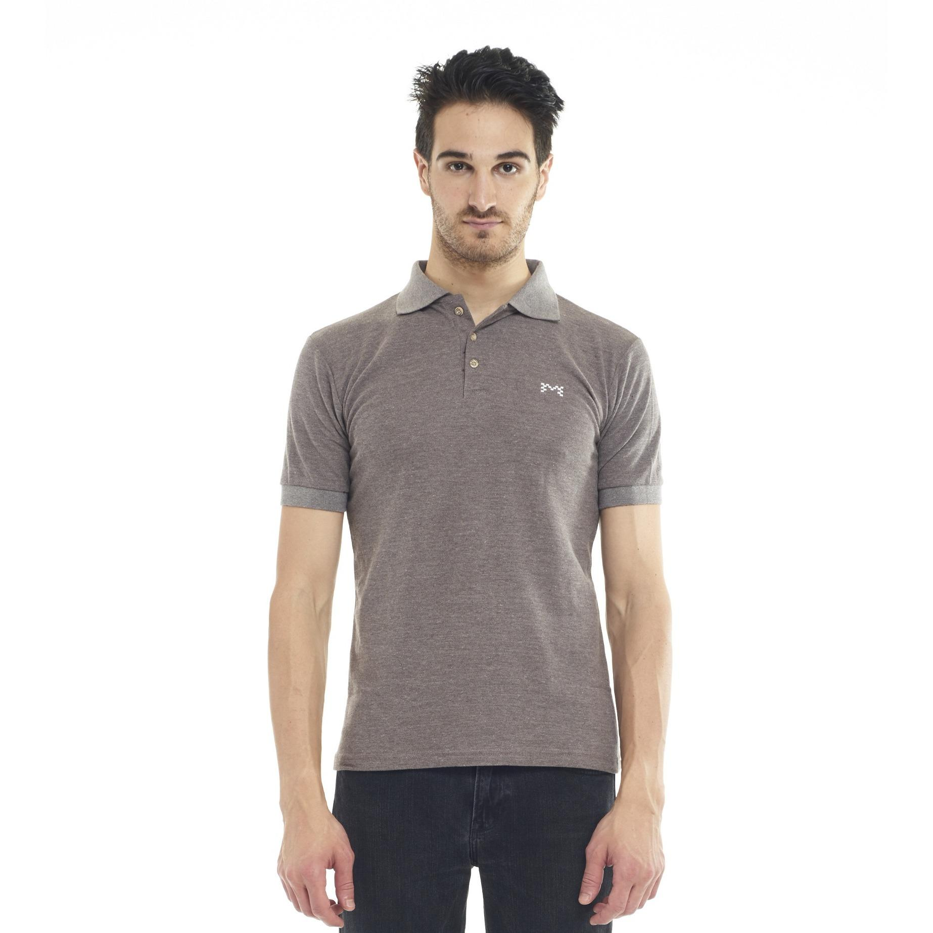 Beli Mark Inc Polo Shirt Two Tone Grey Pakai Kartu Kredit