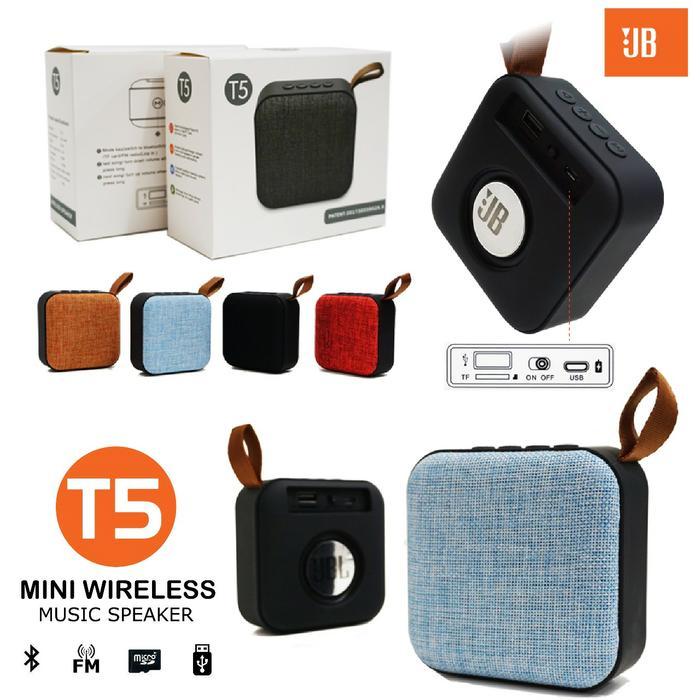 Speaker Bluetooth JB Mini T5 Subwofer Super Bass Murah Speaker Bluetooth JB Mini T5 Subwofer Super
