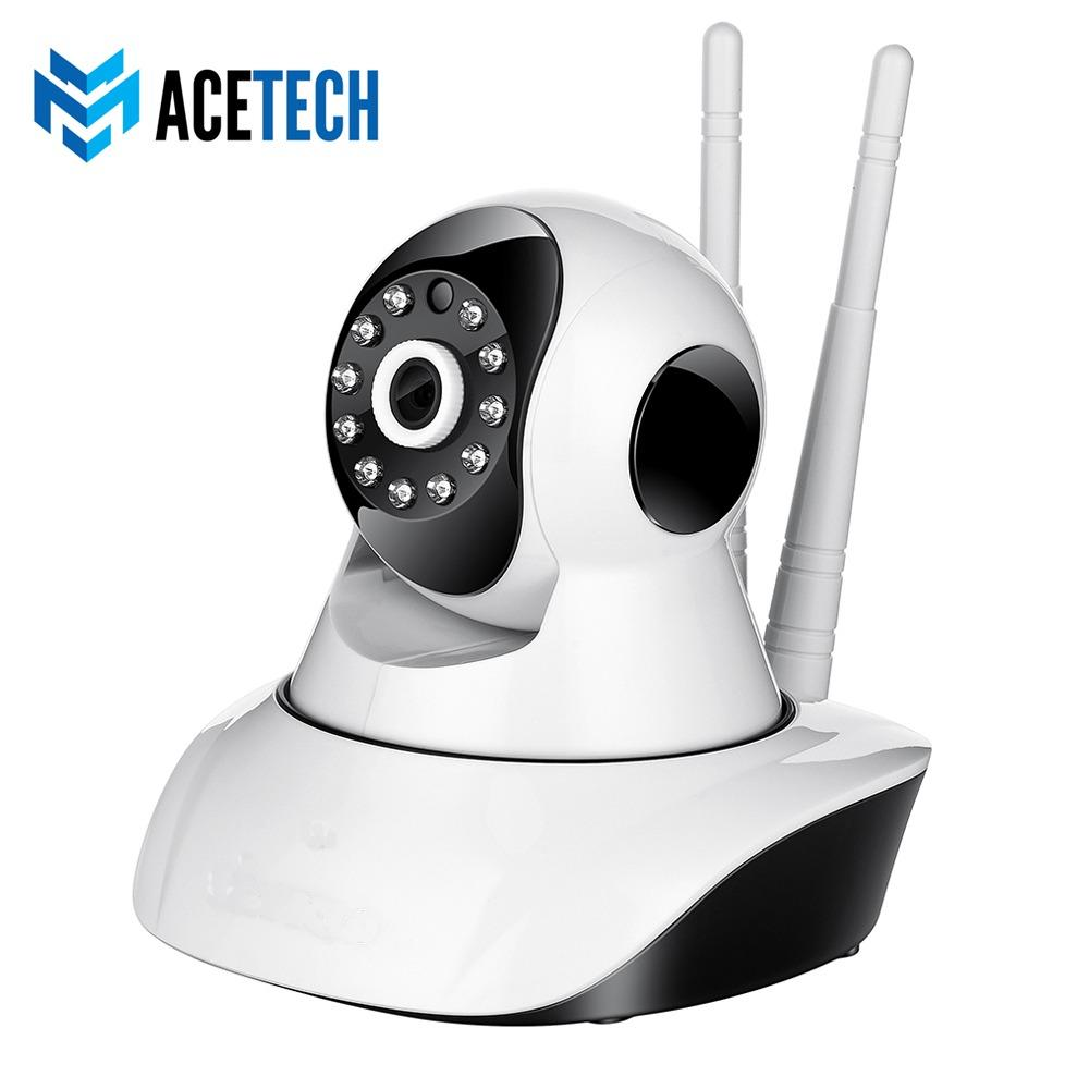 Acetech Wifi Smart Camera Babycam IP Cam CCTV Wireless Portable Home Security IP Camera Network 720P/960P/1080P Night Vision