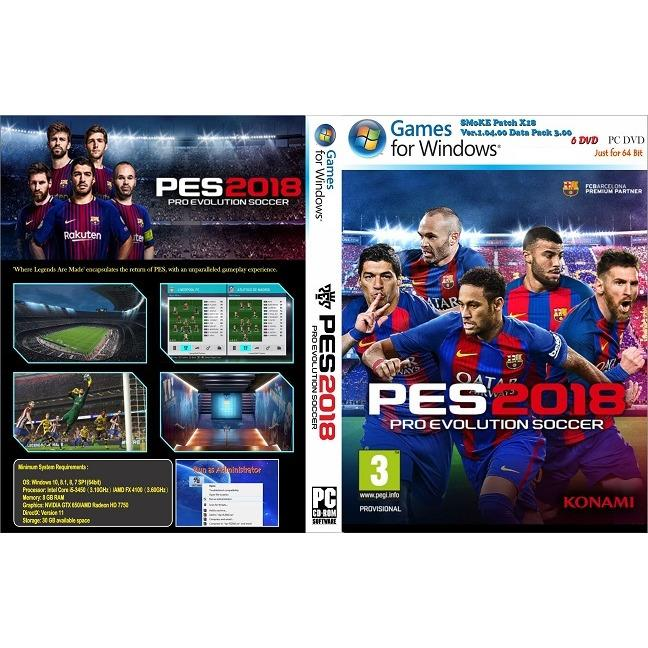 Pro Evolution Soccer 2018 (PES 2018) PC - Full Update 2018
