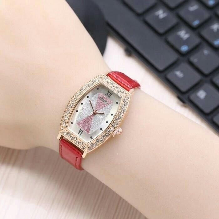 jam tangan guess wanita / jtr 1095 merah / Jam tangan wanita / jam tangan model