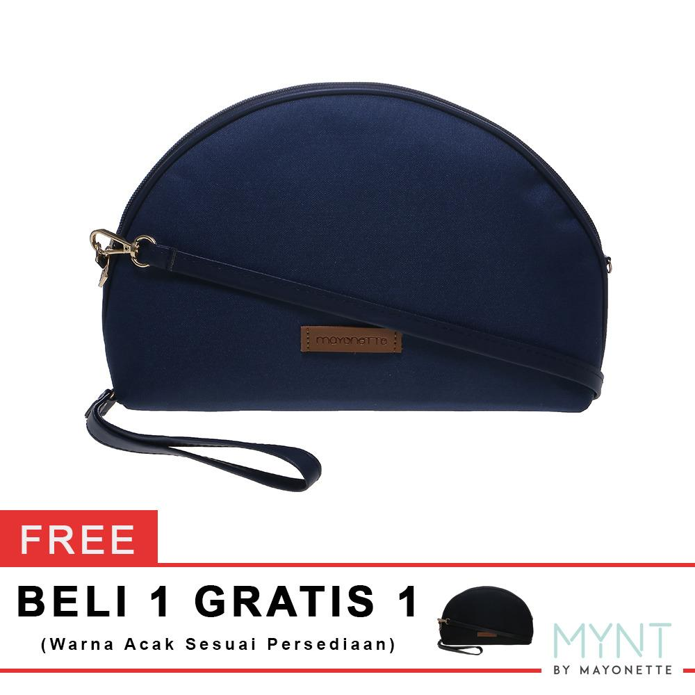 Harga Mynt By Mayonette Buy 1 Get 1 Tas Wanita Korean Style Clutch Pouch Basic Manse Canvas Navy Mayonette
