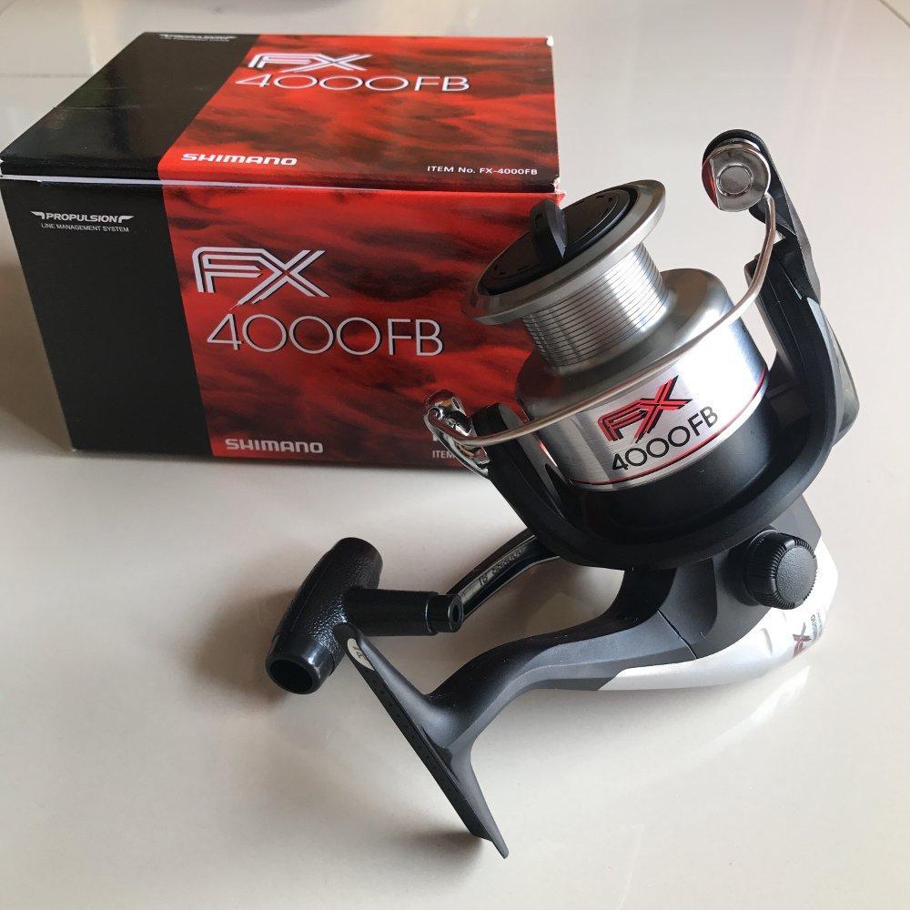 Reel Shimano FX 4000 Real ProjectBOS PANCING Zerya Fishing