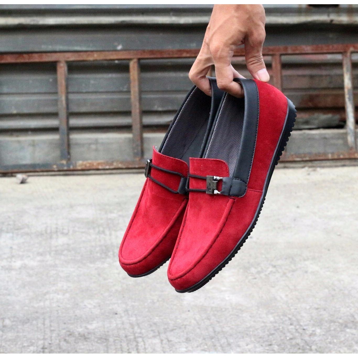 Cuci Gudang Kerak Store Sepatu Casual Slip On Loafer Pria