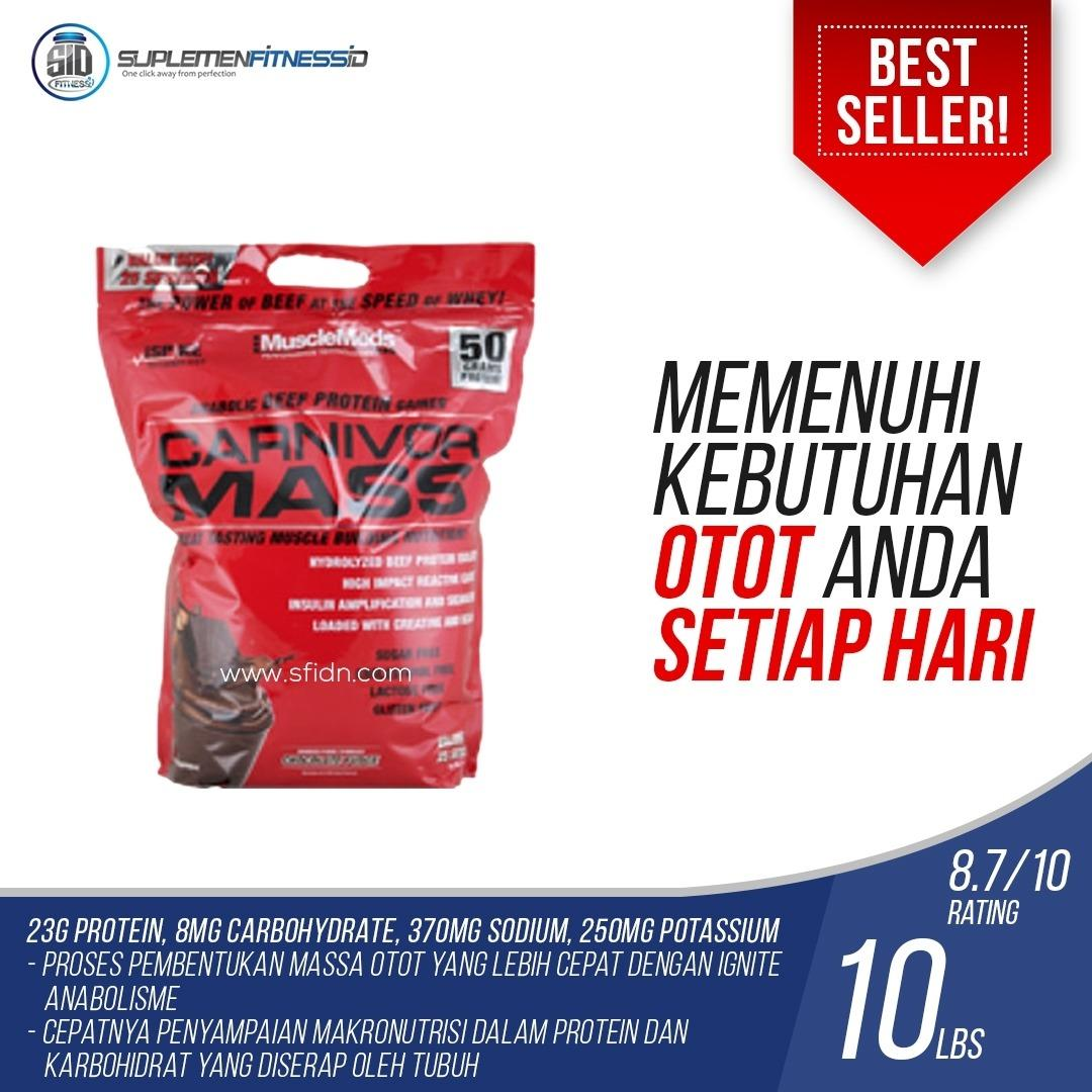 Jual Musclemeds Carnivor Mass 10 Lbs Chocolate Import
