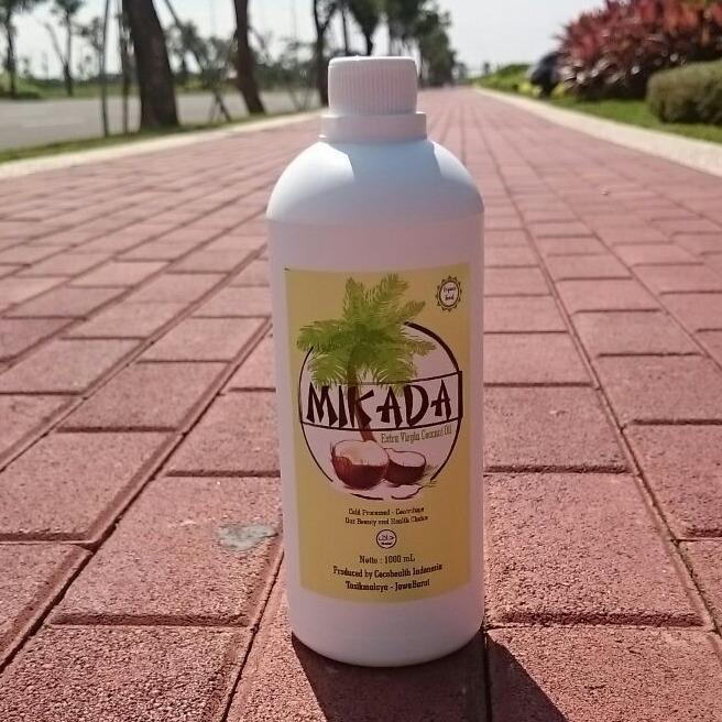 Vco Virgin Coconut Oil 1000Ml Mikada Minyak Kelapa Murni Indonesia Diskon