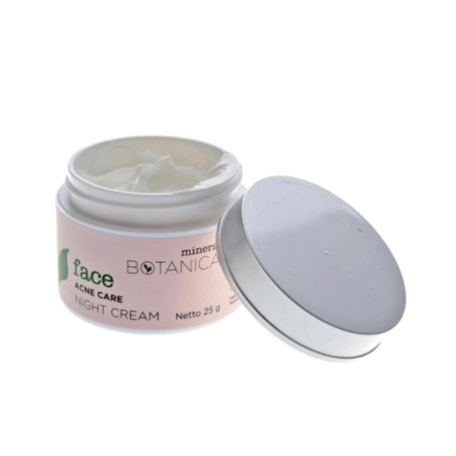 Harga Mineral Botanica Acne Care Night Cream Origin