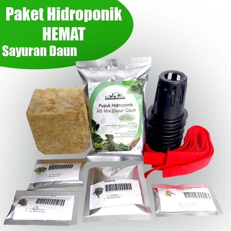 paket hidroponik hemat sayuran daun