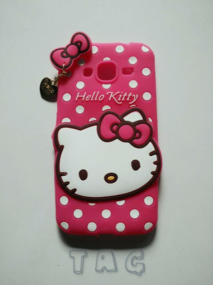 Samsung Galaxy Grand Prime Softcase Hello Kitty Kartun Soft Case Cover