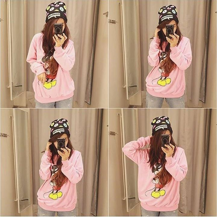 Komaya Fashion Kss 888 - Sweater Mickey Bers Pink