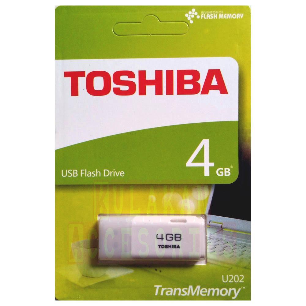 Flash Disk / Flashdisk USB Flash Memory Toshiba 4 GB - Putih