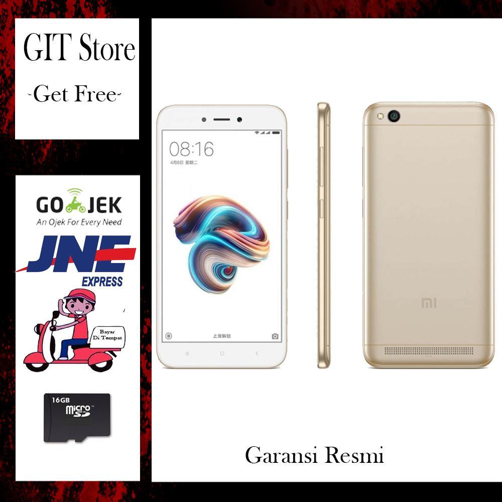 Fitur Xiaomi Redmi 5a Smartphone 2 16gb Grey Resmi T A M Free Msd16 Note 3 Pro Garansi Tam Gold