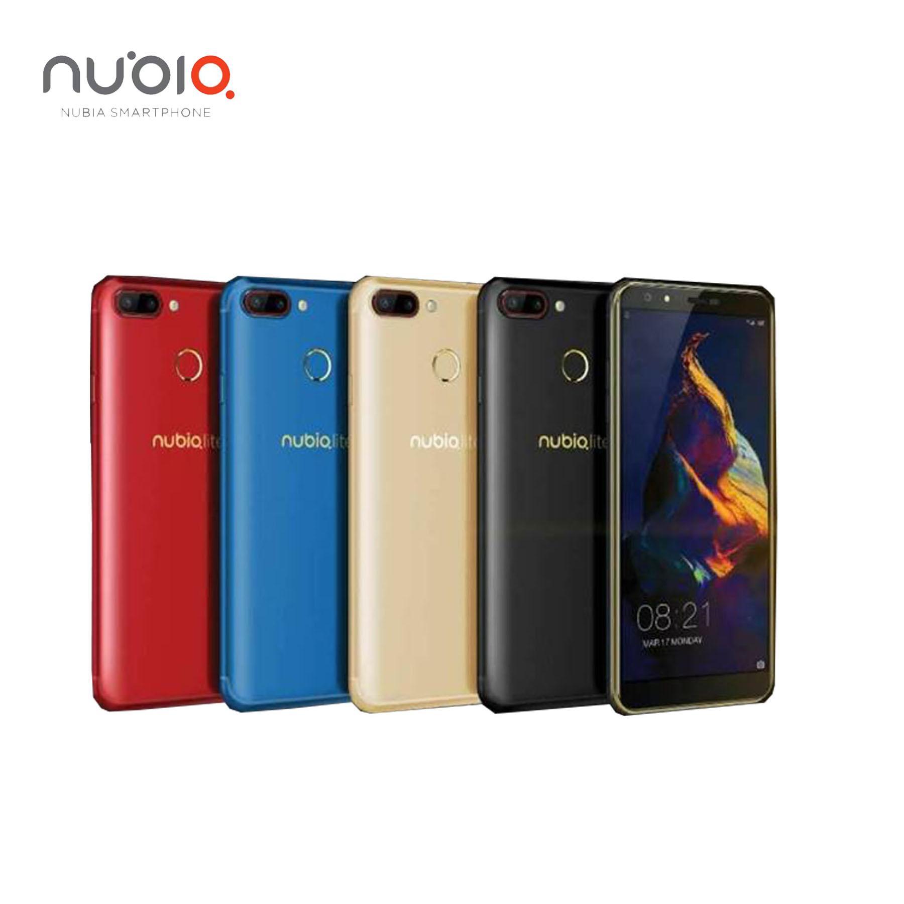 Nubia N2 Lite - 3/32GB - Full View Display - 3300Mah - Fingerprint - RED - 3