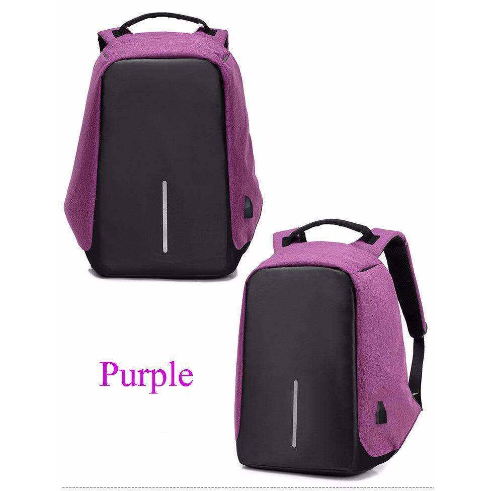 Tas Ransel Pria  Wanita Bag anti theft backpack laptop waterproof with USB Charging