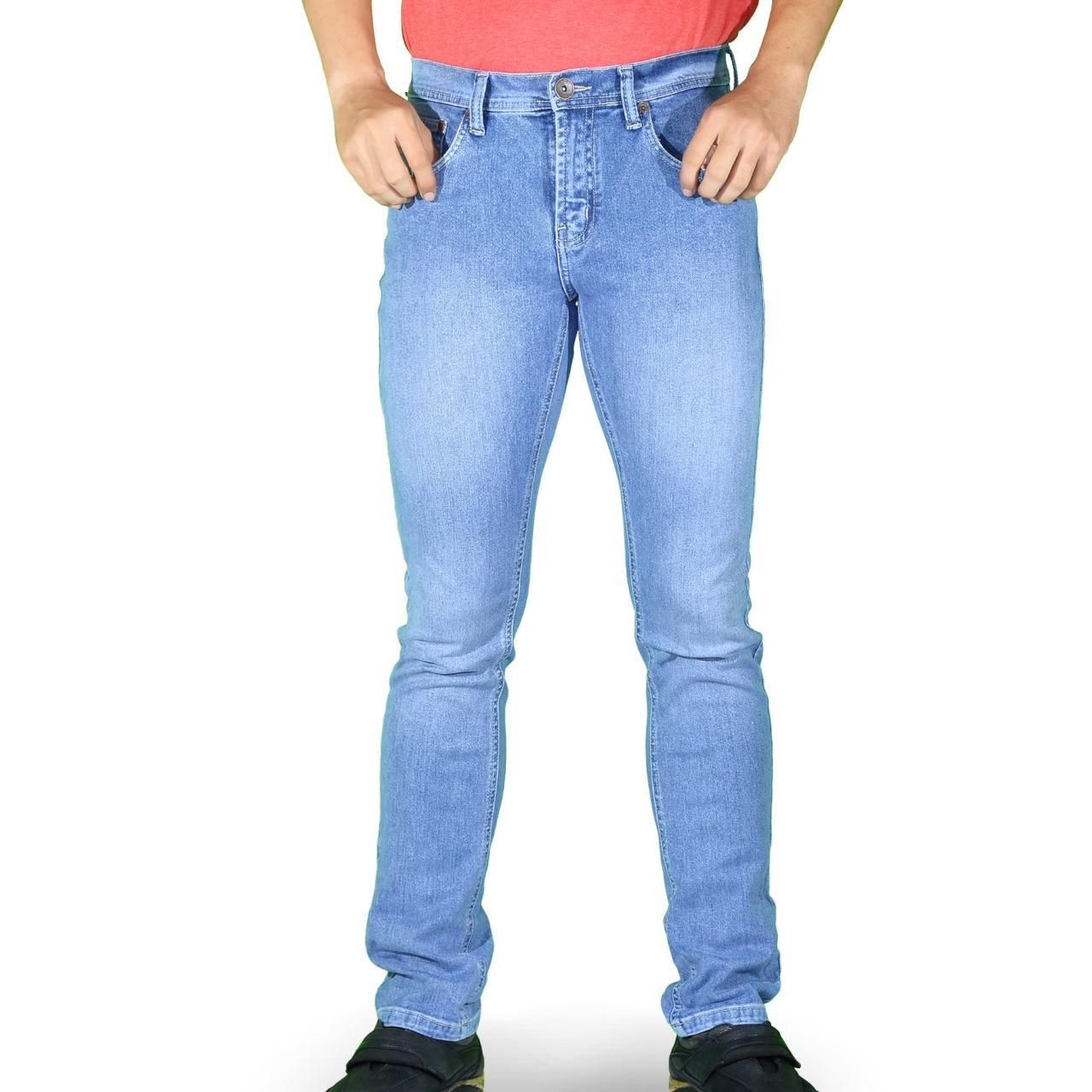 Emba Jeans Celana Panjang Pria BS 07.1 Morgan Slim 617-11205-66-Riveira Blue
