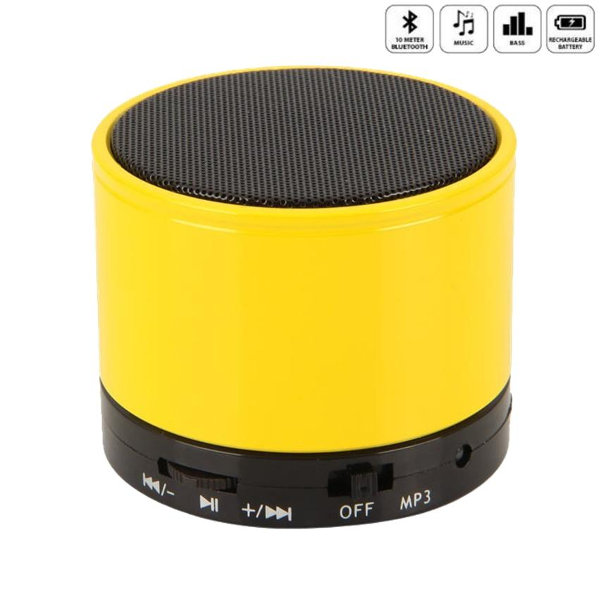 Blessing Speaker Bluetooth Mini Super Bass Portable Bluetooth Speaker - S10 Speaker Mini - Warna Kuning