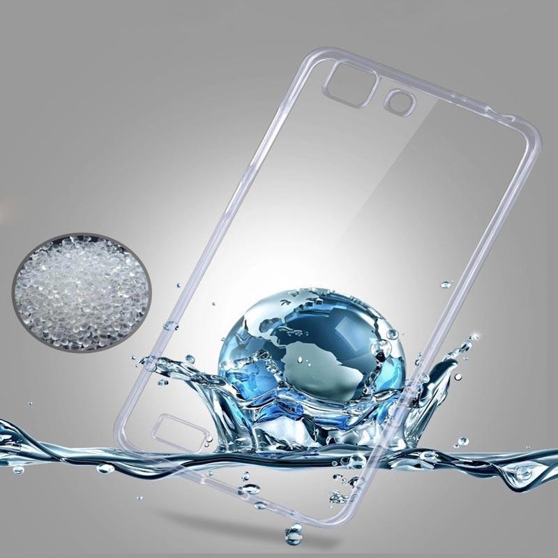 Ultrathin Case For Vivo Y35 Ultra thin Vivo Y35 / Jelly case Y35 / Soft Case Vivo Y35 Silikon Y35 Casing Vivo Y35 Silicone Vivo  - Transparant