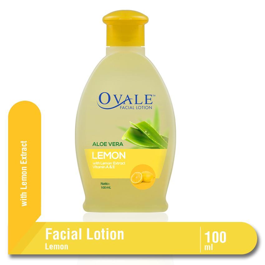 Ovale Facial Lotion Lemon Botol 100 ml
